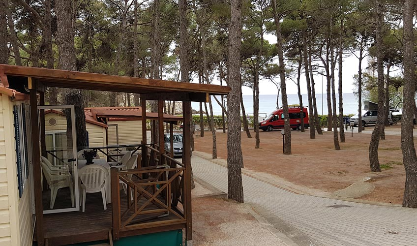 Camping Europa, Ile d'Elbe
